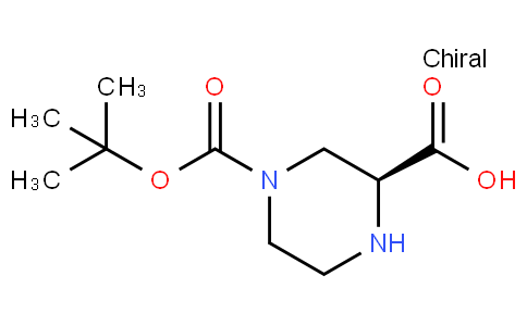 81816 - (2S)-4-[(2-methylpropan-2-yl)oxycarbonyl]piperazine-2-carboxylic acid | CAS 848482-93-9